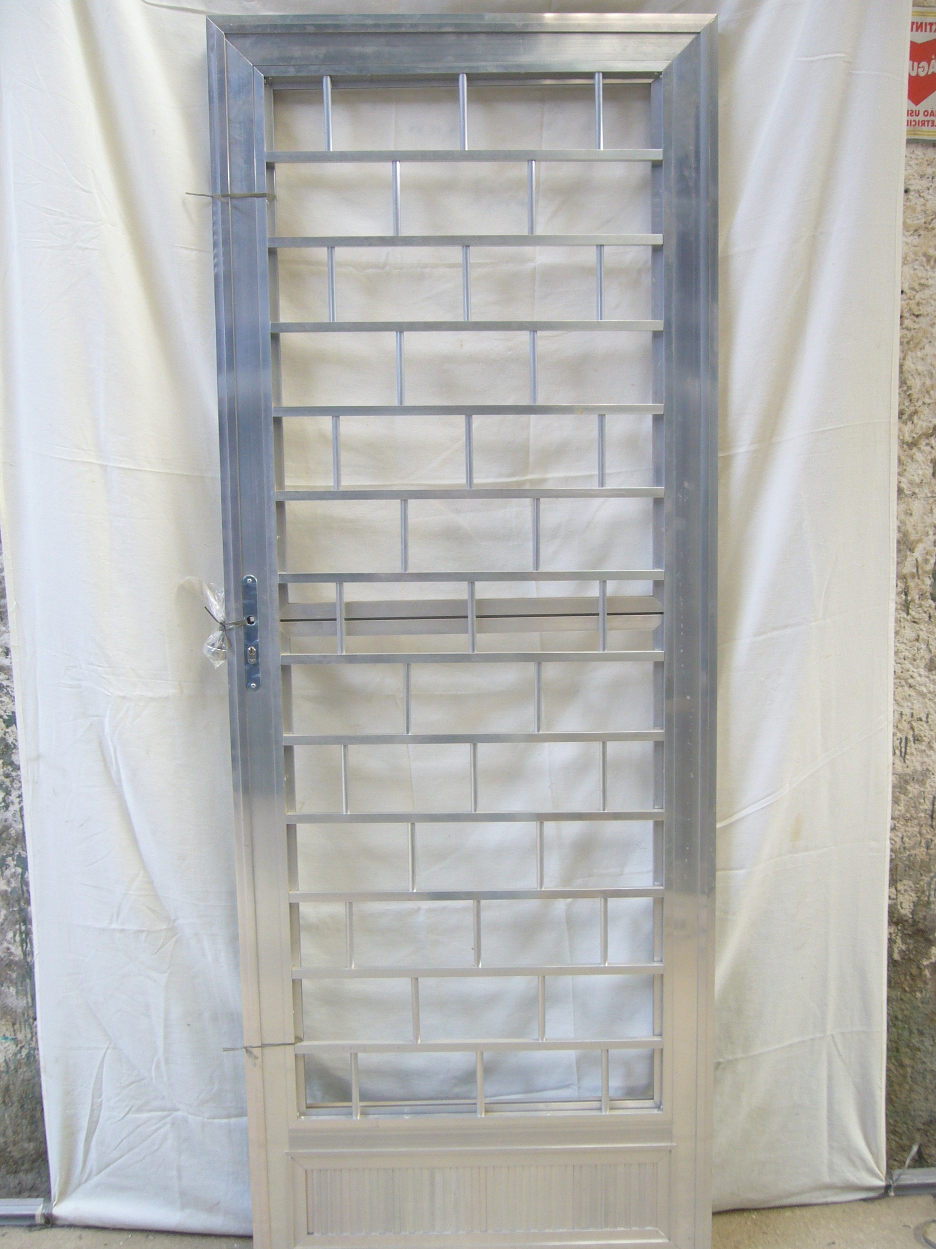 #7A493D Product Categories Portas aluminio 4350 Janela Aluminio De Correr Veneziana Com Bandeira Linha 25