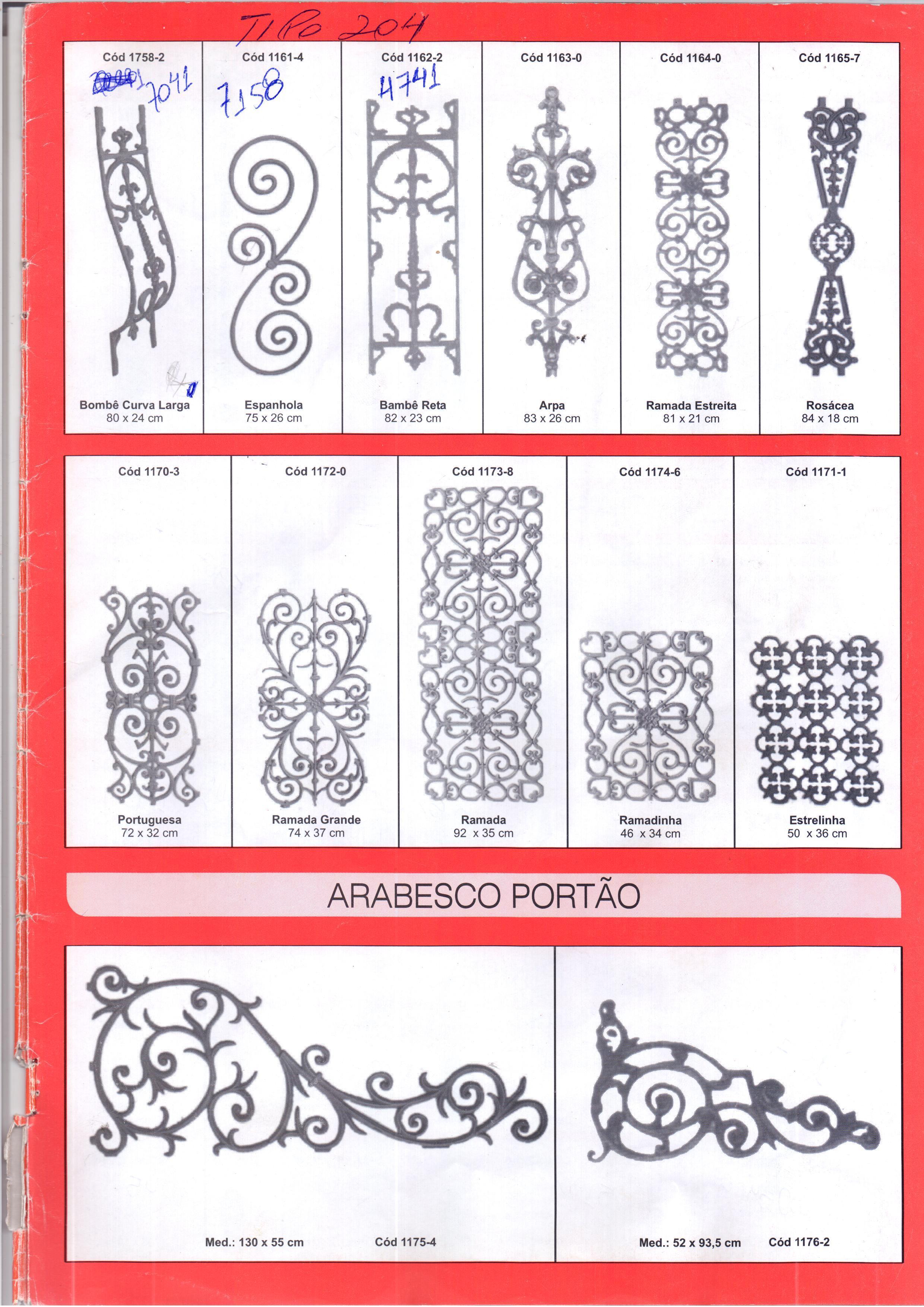 Port?es De Ferro Fundido Modelos Pictures To Pin On Pinterest