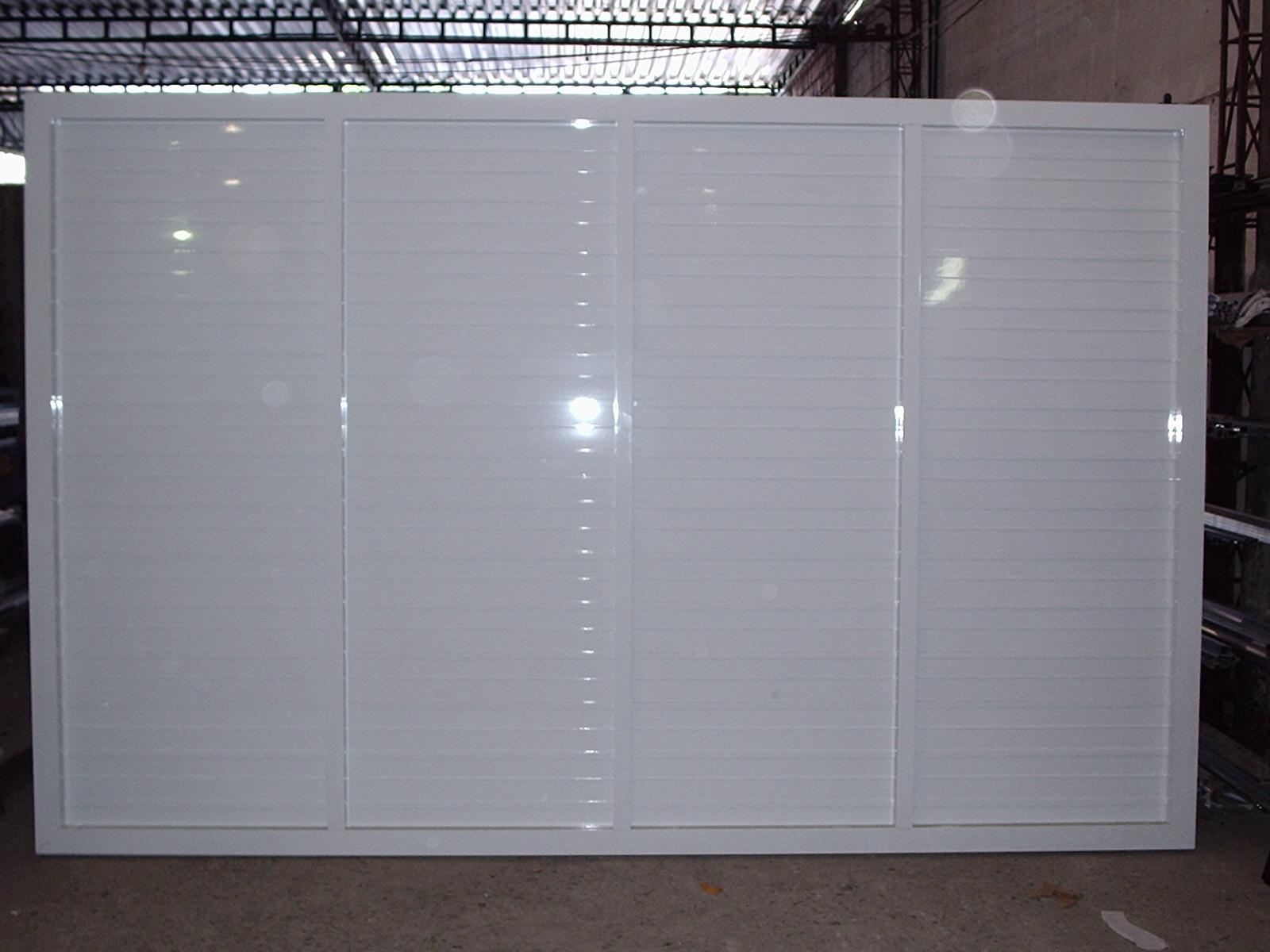 #4F5C65 Home / Portão alumínio / Portão veneziana 4350 Janela Aluminio De Correr Veneziana Com Bandeira Linha 25